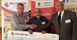 Willowton donates R5m for bursaries to UKZN