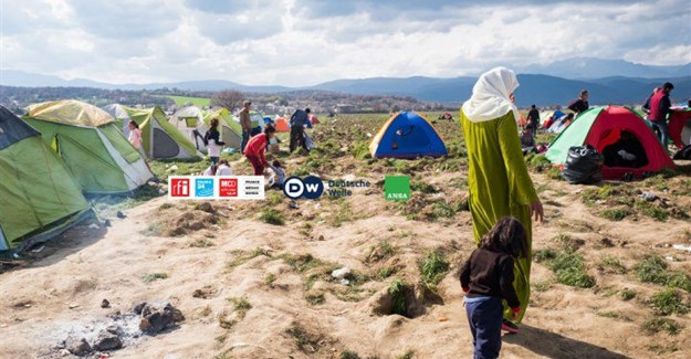 Multi-lingual media project aimed at refugees