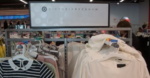 Victoria Beckham's line is seen for sale at Target on April 10, 2017 in New York.