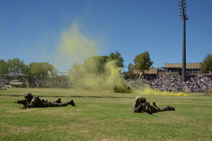 Prepare for an awesome display of military power from the SANDF at the Rand Show
