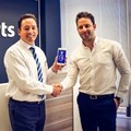 Steve Caradoc-Davies, principal/director of Harcourts Platinum (left) and Greg Jooste, founder and MD of PHNX Digital (right)