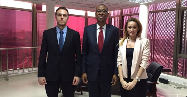 Oxford Business Group with Okechukwu E Enelamah, Nigeria's minister of industry and trade.