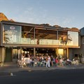 Scenic Camps Bay restaurant node fosters sensory experience