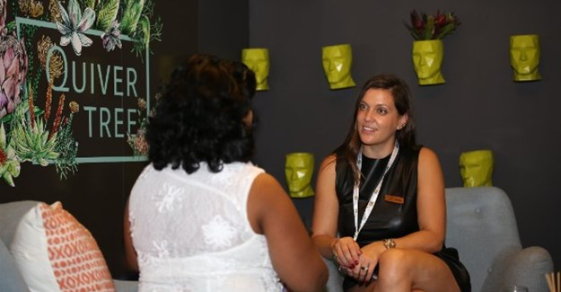 Jeanné Schmulian, marketing manager of Quiver Tree Apartments, was a first-time exhibitor at WTM Africa 2017