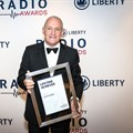 John Robbie was the recipient of the Lifetime Achiever Award at the Liberty Radio Awards. Image © Times Media.