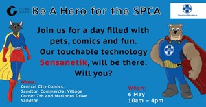 Heroic touchable tech 'Sensanetik' is helping you help the SPCA