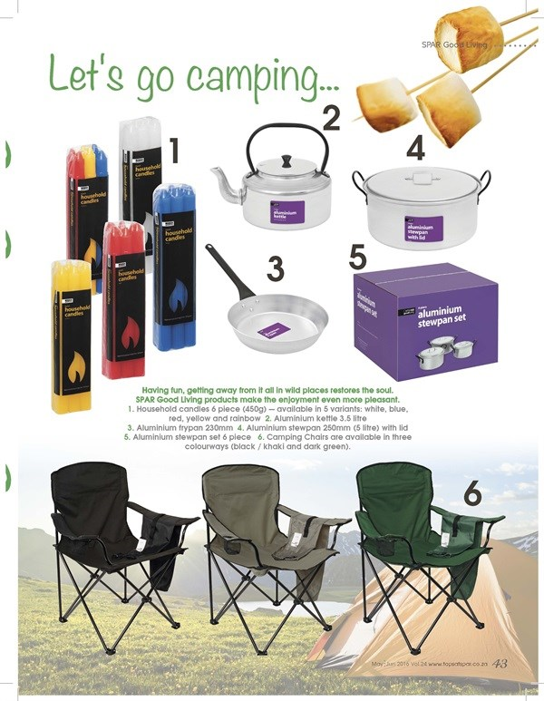 Cheers - Camping Equipment