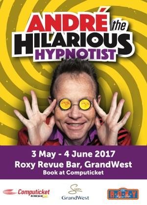 Andre the hilarious hypnotist returns to GrandWest