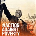 Launch of #ActionAgainstPoverty for Mandela Day this week