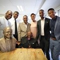Bataung Memorial Tombstones' statue tribute to living legend, Archbishop Desmond Tutu