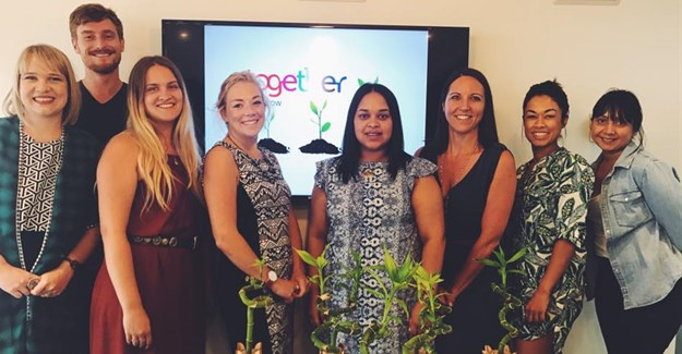 Posiive Dialogue Communications team