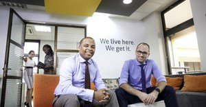 Cobus van Zyl, COO (right) and Rashid Tenga, CEO, of Aggrey & Clifford.