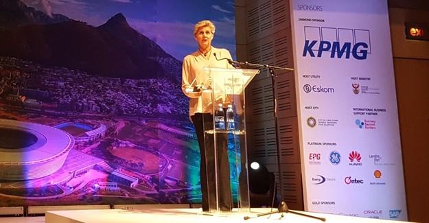 Gisela Kaiser, executive director, Utility Services, City of Cape Town
