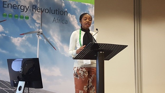 Faith Mkhacwa, programme manager at the National Cleaner Production Centre of South Africa (NCPC-SA)