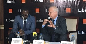 Orange launches in Liberia.