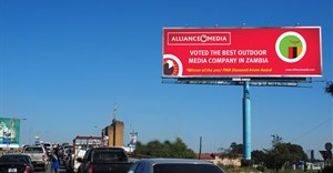 Alliance Media voted best outdoor advertising company in Zambia