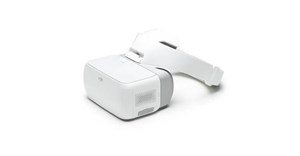 DJI Goggles allows real-time drone footage, head motion control