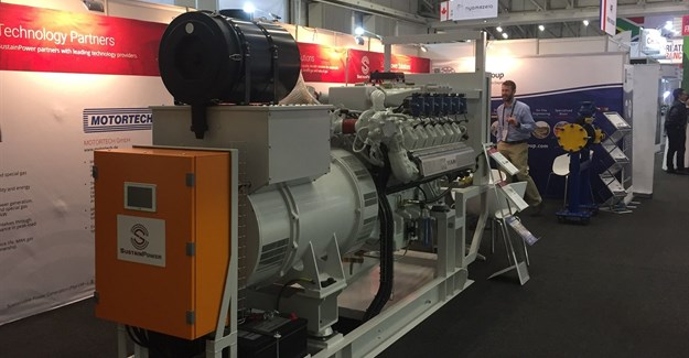 SustainPower gas to power product launch