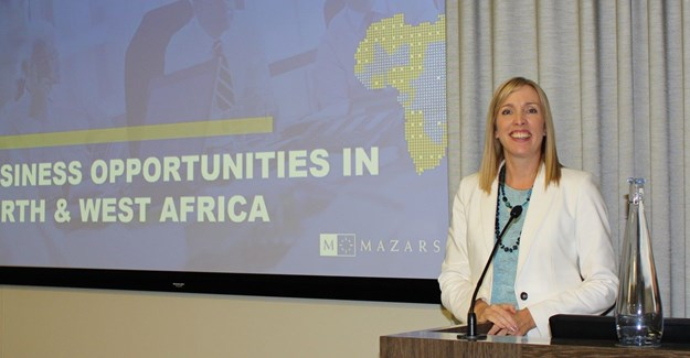 Michelle Olkers, managing partner ar Mazars, Cape Town