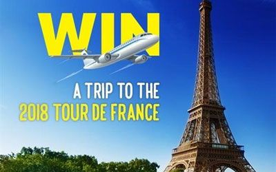 Stand a chance to win a trip to the 2018 Tour de France