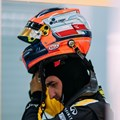 Robert Kubica gets back behind the F1 wheel