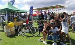 Start the day happy with the Thrive 16-seater Breakfast Blend Bike