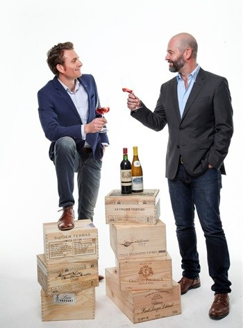 Roland Peens and James Pietersen, Wine Cellar: Fine Wine Merchants and Cellarers