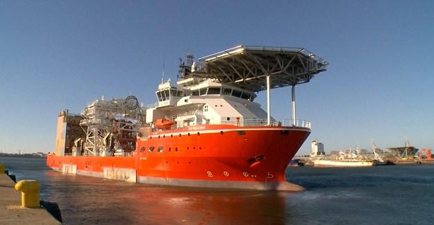 High-tech diamond mining vessel starts operations