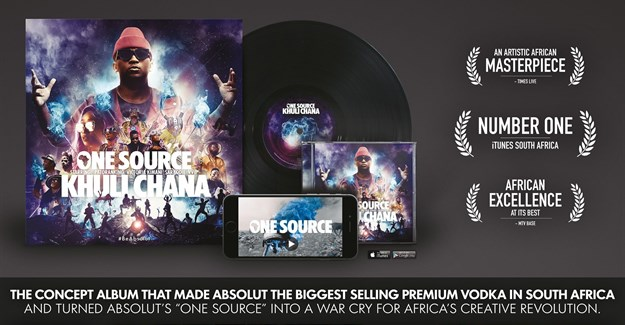 The Absolut One Source campaign.