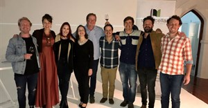 Wine Cellar Young Guns 2017, from L to R: Paul Hoogwerf, Jessica Saurwein, Callan Williams, Stephanie Wiid, Lukas van Loggerenberg, Franco Lourens, Douglas Mylrea, Danie Carinus and Etienne Terblanche
