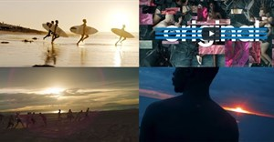 Screenshots from SA's three Bronze winners and the Grand Prix for Film Craft.
