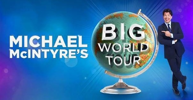 Michael McIntyre returns to South Africa