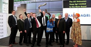 Kaap Agri Limited Directors celebrating the listing at the JSE