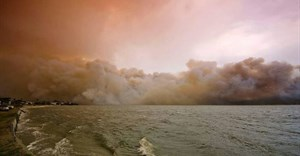Knysna fire. Image Source: