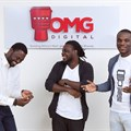 OMG Digital Founders: Dominic Mensah, Prince Boakye Boampong and Jesse Arhin Ghansah.