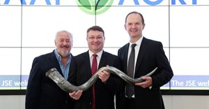 Left to Right: George Steyn (Chairman), Sean Walsh (Managing Director) and Graeme Sim (FD Director) of Kaap Agri Limited