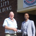 uMATI project manager, Graham Armstrong with Mayor of Mpofana, Xolani Duma, who has offered his full support to the initiative.