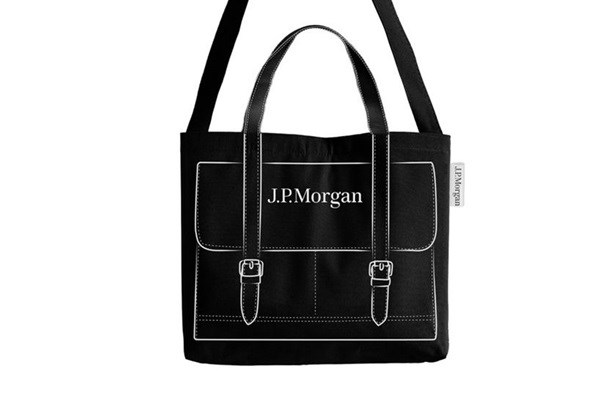 The JP Morgan Chase bag.