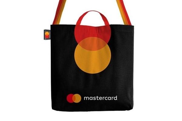The Mastercard bag.