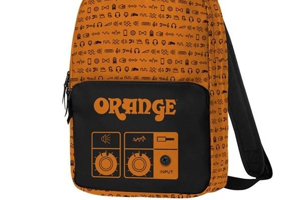 The Orange backpack.