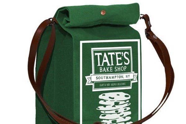 The Tate's lunch bag.