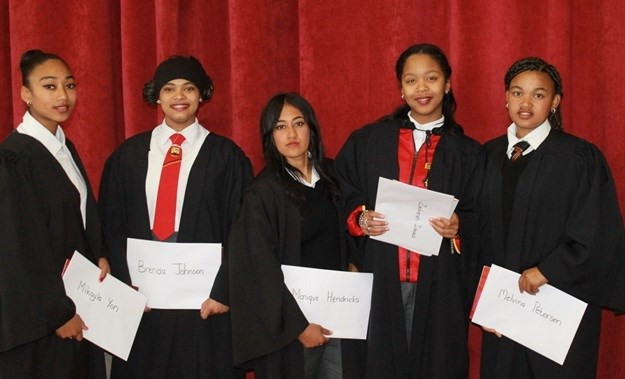 Students from Phoenix Secondary School in Manenberg graduate from Youth4Change Movement programme.