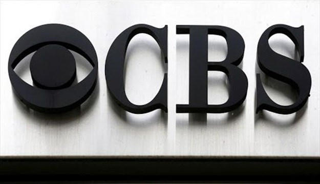 The CBS logo outside the CBS Broadcast Center in New York, the US.<br>Image: