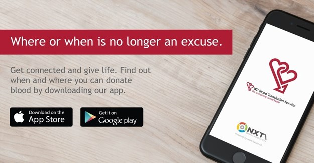 WP Blood app makes donating blood a cinch