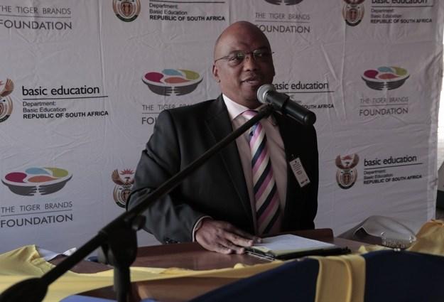 Eugene Absolom, director of the Tiger Brands Foundation
