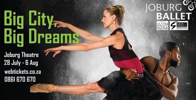 Joburg Theatre presents Big City, Big Dreams with Fiona Ramsay
