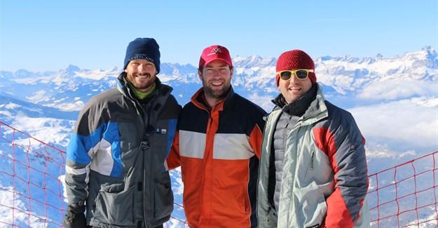Go & Travel directors from left: Dale Barrow, Sam Bradley, Duane Stacey