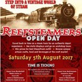 Reefsteamers volunteers invite public to share in the world of steam