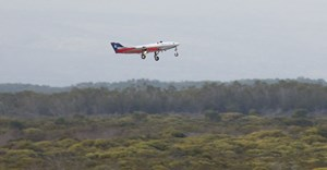 Successful test flight for jet-powered UAV 'SAGITTA'
