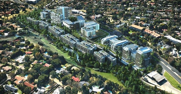 Abland, Tiber to develop mixed-use Sandton Gate precinct